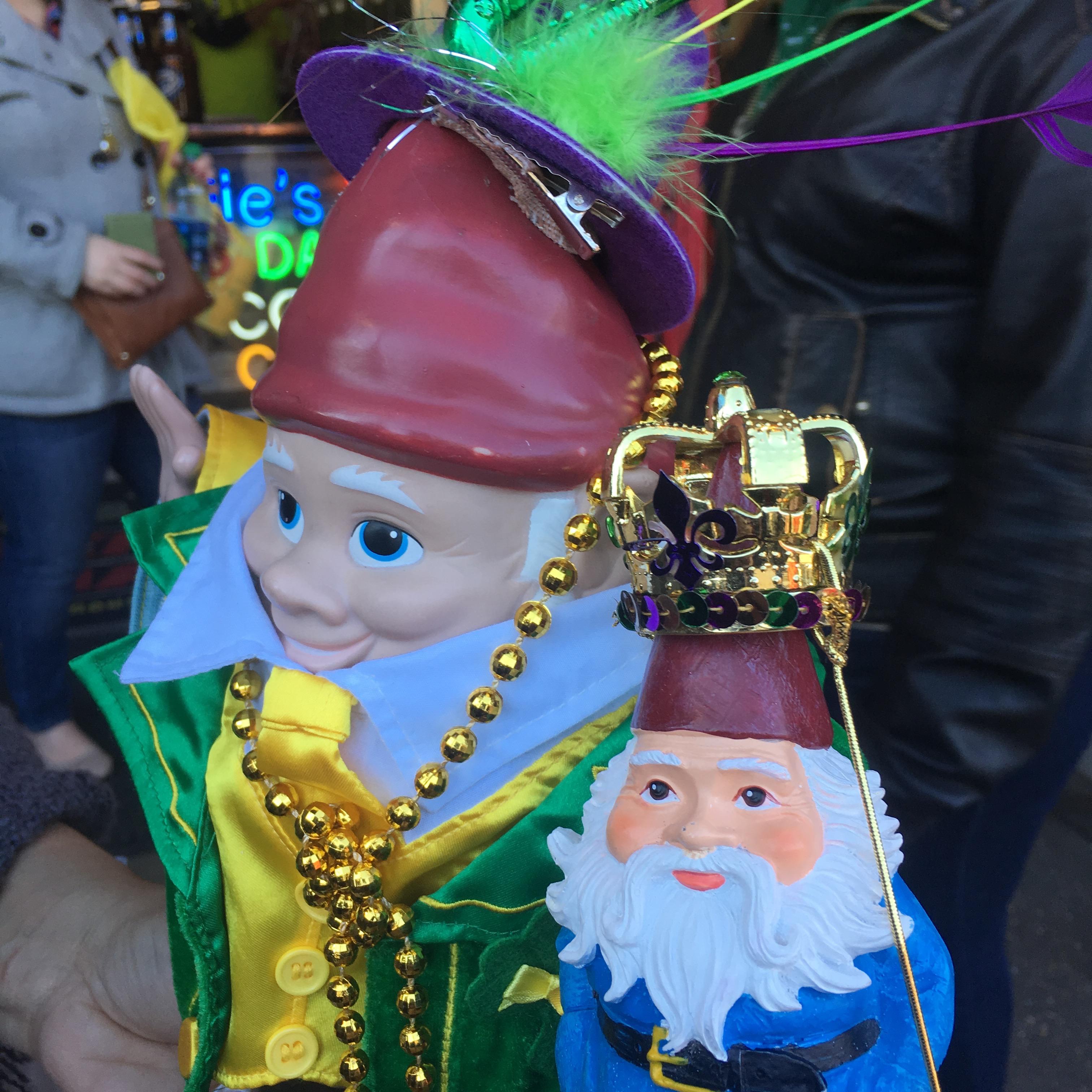 Gnome meets gnome