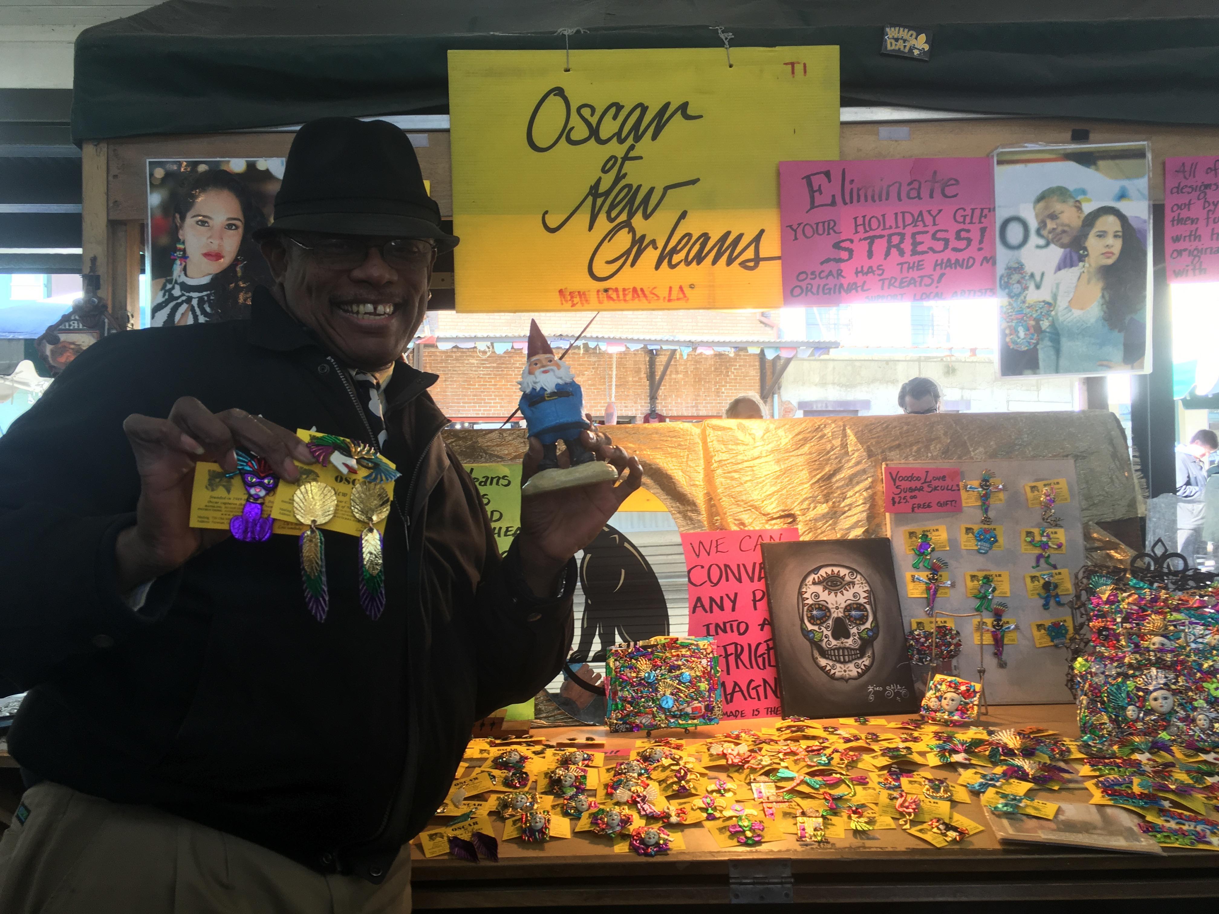 Oscar the NOLA jewlry maker