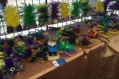 Mardi Gras headpieces